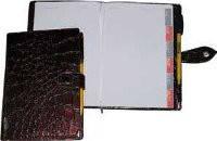 Ежедневник на кнопке «Идеал» 112л.  + высечка регистров по месяцам Ф-165х240 (блок офсетная бумага 80г/м2, печ