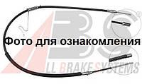 Трос ручника левый на Ford Transit 2.0 TDi - 2.0 TDCi (00-06). Передний привод - R15.