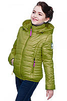 Курточка для девочки прямого пошива