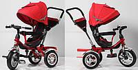 Трехколесный велосипед  Super Trike TR16009, надувные колеса,, красный