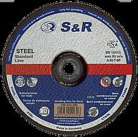 Круг зачистной по металлу 125х6.0х22.2мм S&R Meister