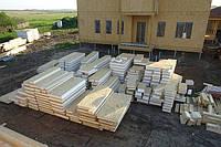 Свайный фундамент для строительства домов.
