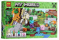 """Конструктор Bela Minecraft """"Железный голем"""" 10468 (220 деталей) KK"""