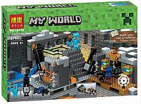 """Конструктор Bela Minecraft """"Портал в край"""" 10470 (571 дет) KK"""