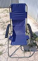 Кресло-шезлонг «Мальта» с пластиковыми подлокотникамиSYA 060, фото 1