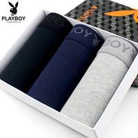 Подарочная упаковка мужских трусов  PLAYBOY (3 шт)