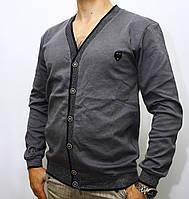 Мужской кардиган классик на рубашку