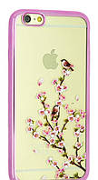 Чехол-накладка Remax Osaka Series for Samsung J120 (J1-2016) Sakura Blossom (Pink)