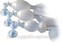 Мешок дыхательный ручного типа АМБУ с аксесуарами  (многоразового использования)