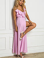 Летнее платье в пол | 2186 sk лиловый