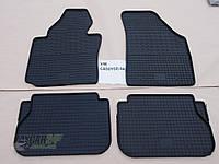 Резиновые ковры в салон Volkswagen CADDY (2) с 2004 (CLASIC) кт-4 шт.