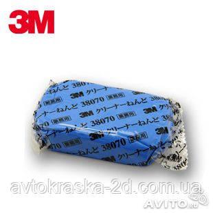 Абразивная голубая глина 3М 180г.