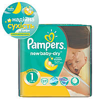 Подгузники Pampers New Baby-Dry 2-5 кг, Стандарт 27шт