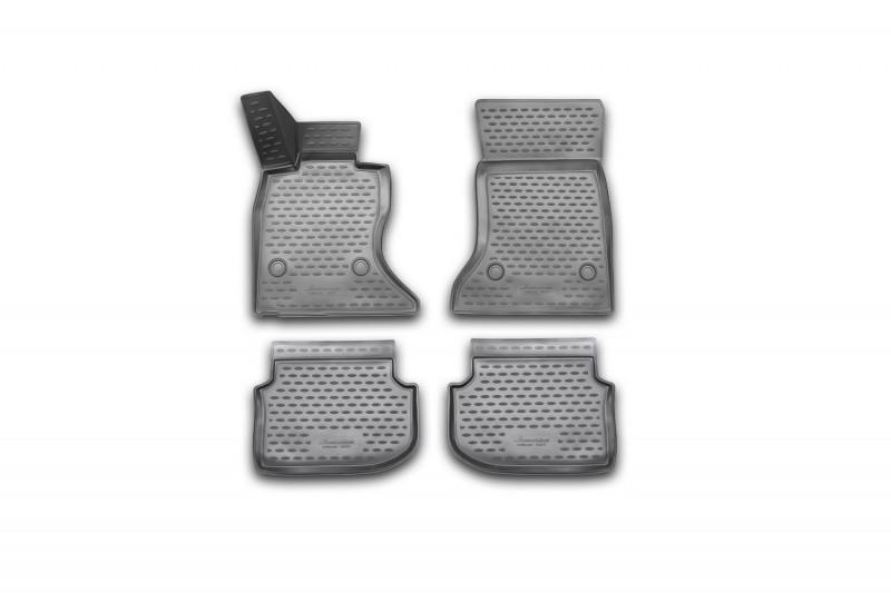 Коврики в салон для BMW 5 (F10) i, 2010-2013 4 шт полиуретан NLC.3D.05.32.210k
