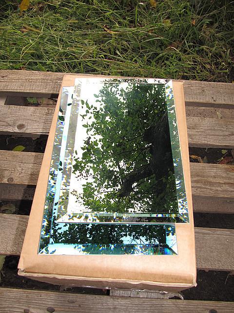 Плитка зеркальная зеленая, бронза, графит400*600 фацет 10мм, фото 1