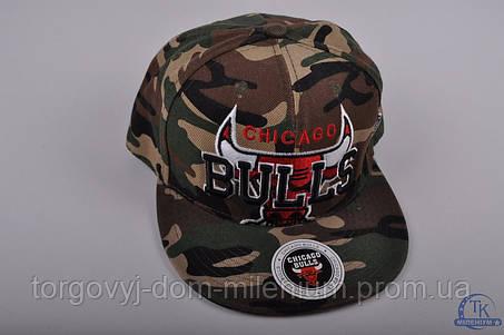 Бейсболка ХИП-ХОП котоновая Bulls, фото 2