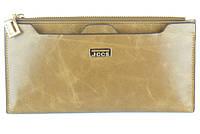 Женский кошелек JCCS 1052 оливковый из натуральной кожи со съемной визитницей артикул 114209