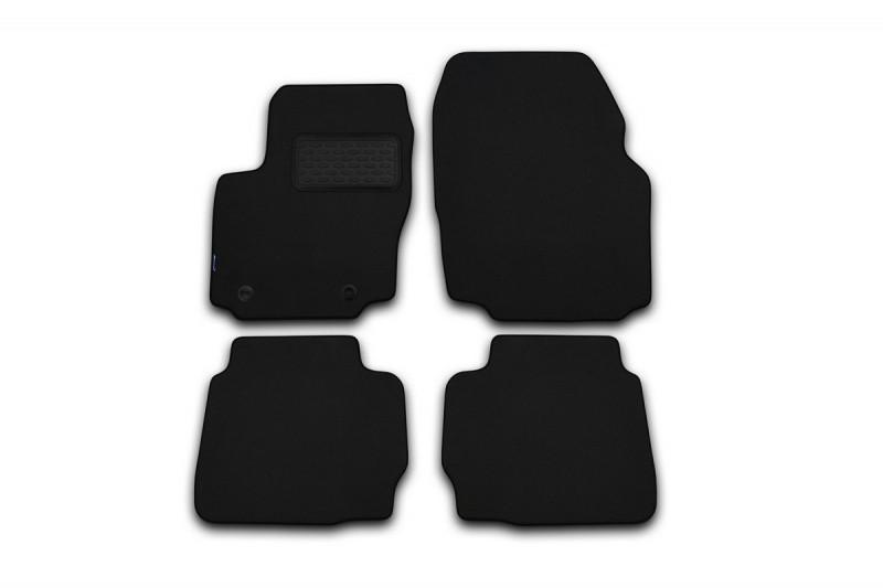 Коврики в салон ворсовые для Honda Civic седан АКПП 2012->, сед., 4 шт  NLT.18.26.22.110kh