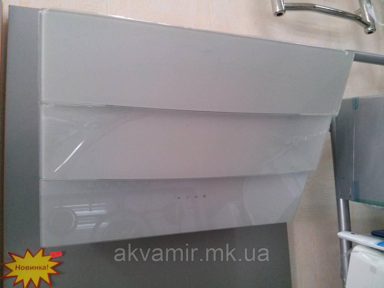 Вытяжка для кухни Fabiano Stella 60 White (белая) наклонная
