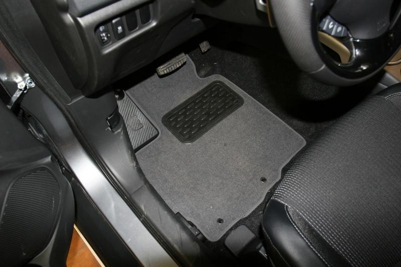Коврики в салон ворсовые для Peugeot 4008 АКПП 2012->, внед., 5 шт  NLT.38.22.11.110kh