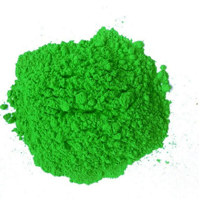 Зелена фарба Холі