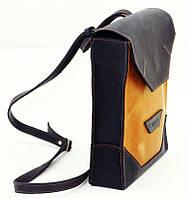 Женская сумка-планшет для молодежи, кожаная VATTO Wk21.1 Kr600,190 синий