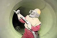 Гидродинамическая очистка металлических  и бетонных конструкций