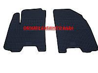 Резиновые ковры в салон перед. Skoda Fabia II 07- (CLASIC) кт-2 шт.