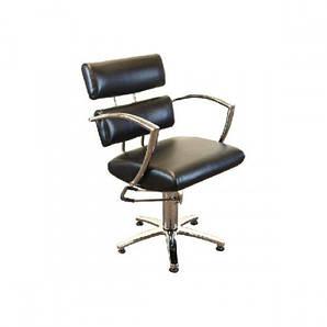 Парикмахерское Кресло  клиента черное