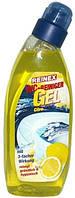 Гель для очистки туалетов и писсуаров (лимон) Reinex WC Gel 750 мл.