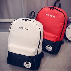 Рюкзак, с материала, стильный.