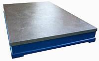 Плита чугунная 2500х1600 кл.1 ручная шабровка (Туламаш)