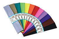 Бумага гофрированная- светло-сиреневый 110%  (50см*200см)