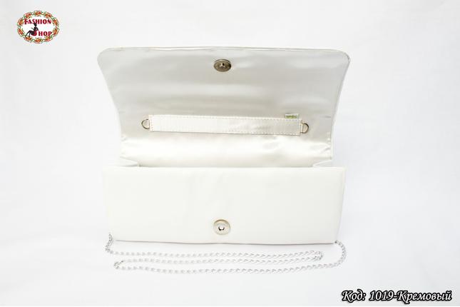 Вышитый кремовый клатч Подсолнухи, фото 2