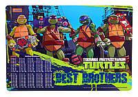 Подложка пластиковая Ninja Turtles 705365 1 Вересня