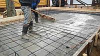Устройство бетонной монолитной  плиты