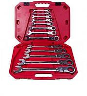 Набор ключей комбинированных трещоточных Alloid НК-8701-13 8-32 мм