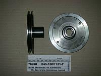 Шкив коленвала МАЗ-4370 1-ручьевой под шлицы (пр-во ММЗ), 245-1005131-Г