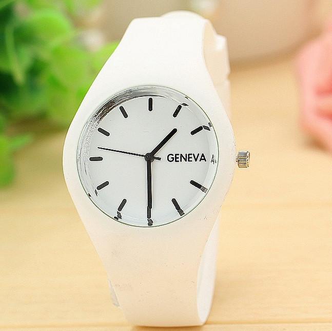 Часы женские Geneva All white