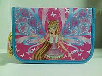 Пенал CLASS арт. 95021, 1 молния, 2 отворота, ПУСТОЙ. Fairy Club 3 CLASS