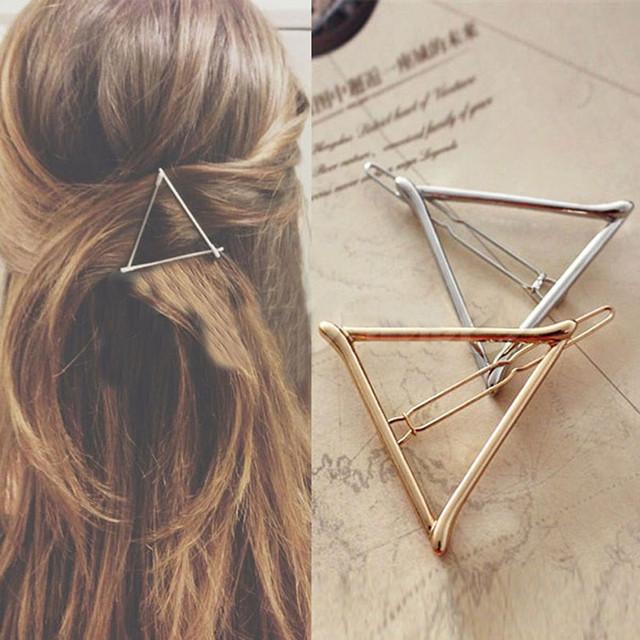 Заколка для волос треугольник