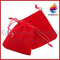 Подарочные мешочки из бархата, велюра (под заказ от 100-500 шт.)