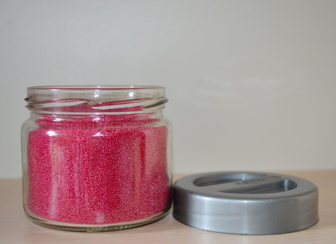 Стеарин цвет розовая фуксия 500 г. Для создания насыпных свечей и литых