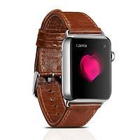 Ремешок для Apple Watch Classic Genuine Leather Series Watchband-38mm коричневый