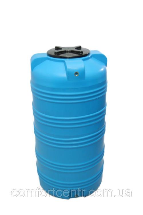 Пластиковая вертикальная емкость для хранения воды V-505 на 500 литров