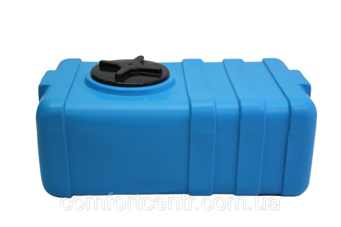 Пластикова прямокутна ємність для зберігання води на 100 літрів SG-100