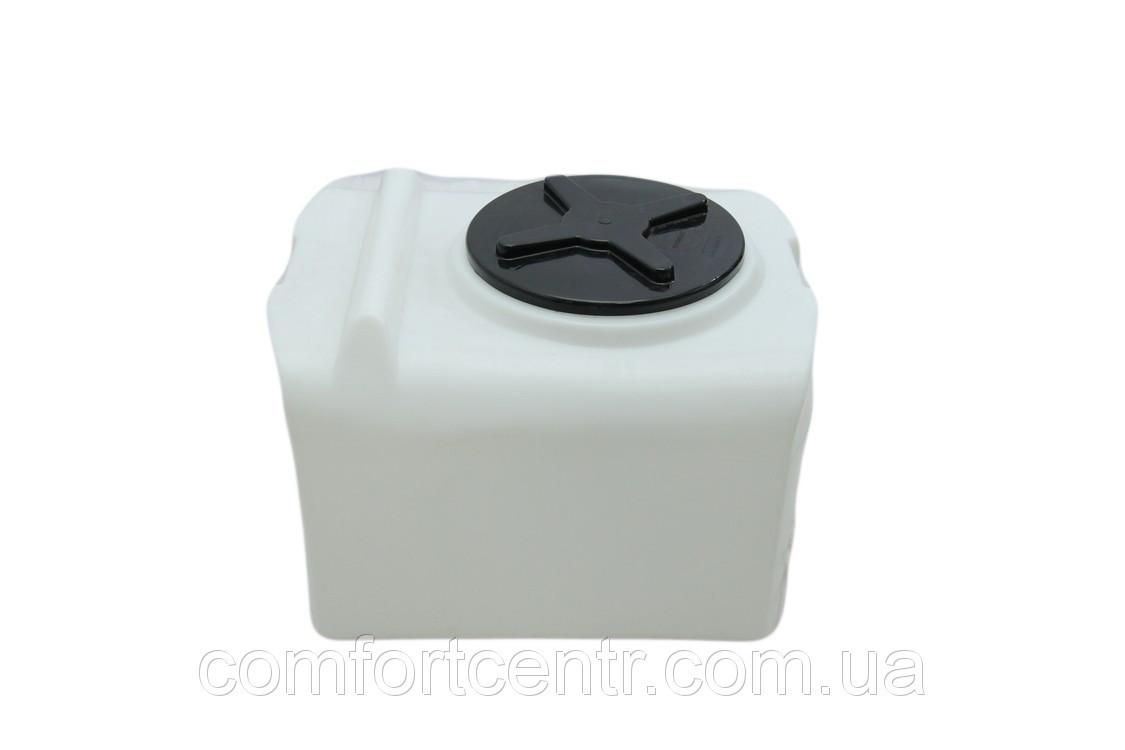 Пластикова ємність квадратна на 200 літрів SK-200 для зберігання води