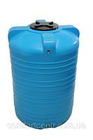 Пластиковая вертикальная емкость для хранения воды V-1000 на 1000 литров, фото 1