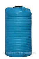 Пластиковая вертикальная емкость для хранения воды V-2000 на 2000 литров