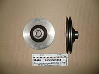 Шкив компрессора Д245.7Е2, 9, 9Е2 и 9Е3 (пр-во ГЗПД), 245-3509300